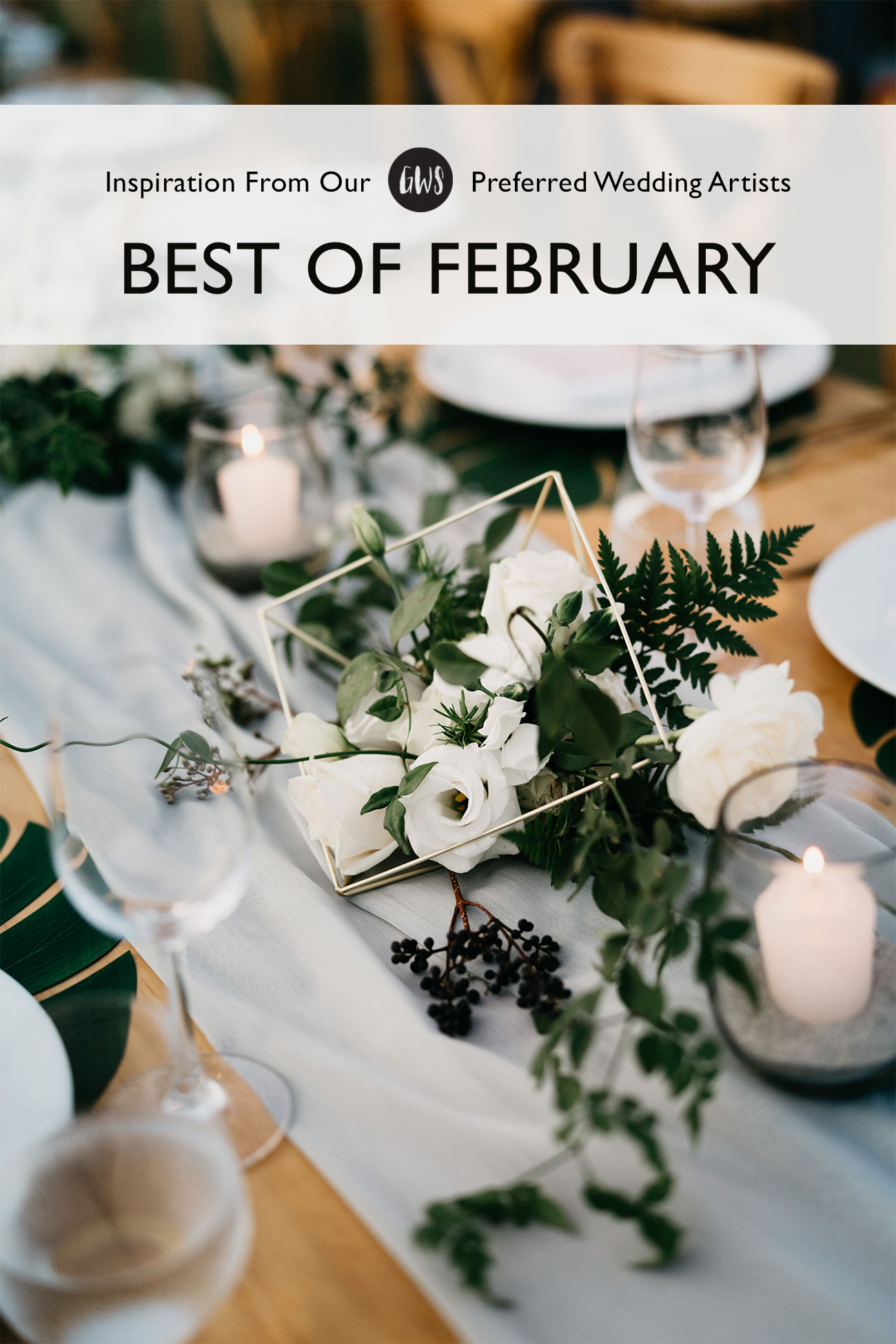 February trends and inspiration for your wedding day