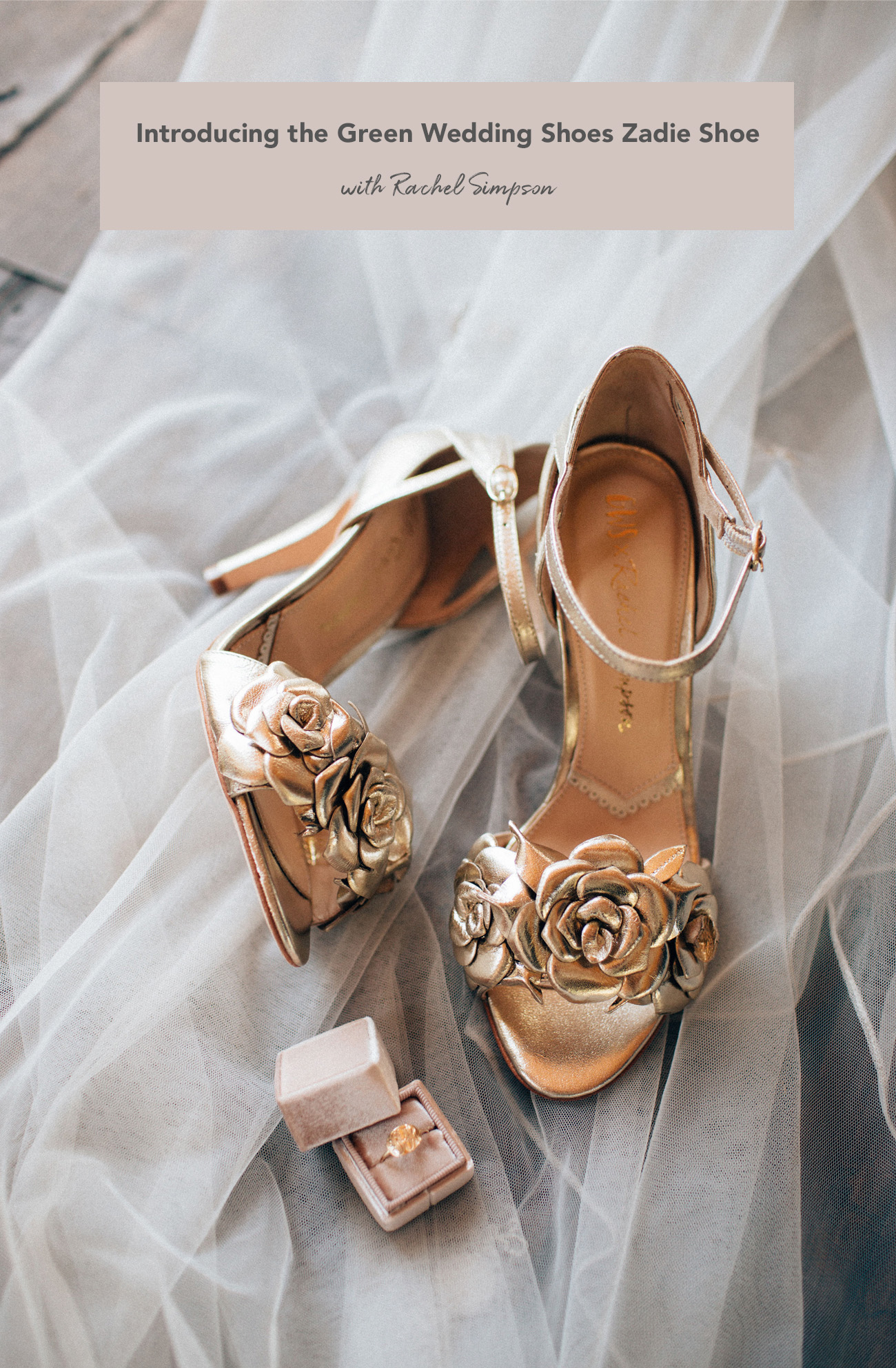 Green Wedding Shoes Zadie Shoe with Rachel Simpson
