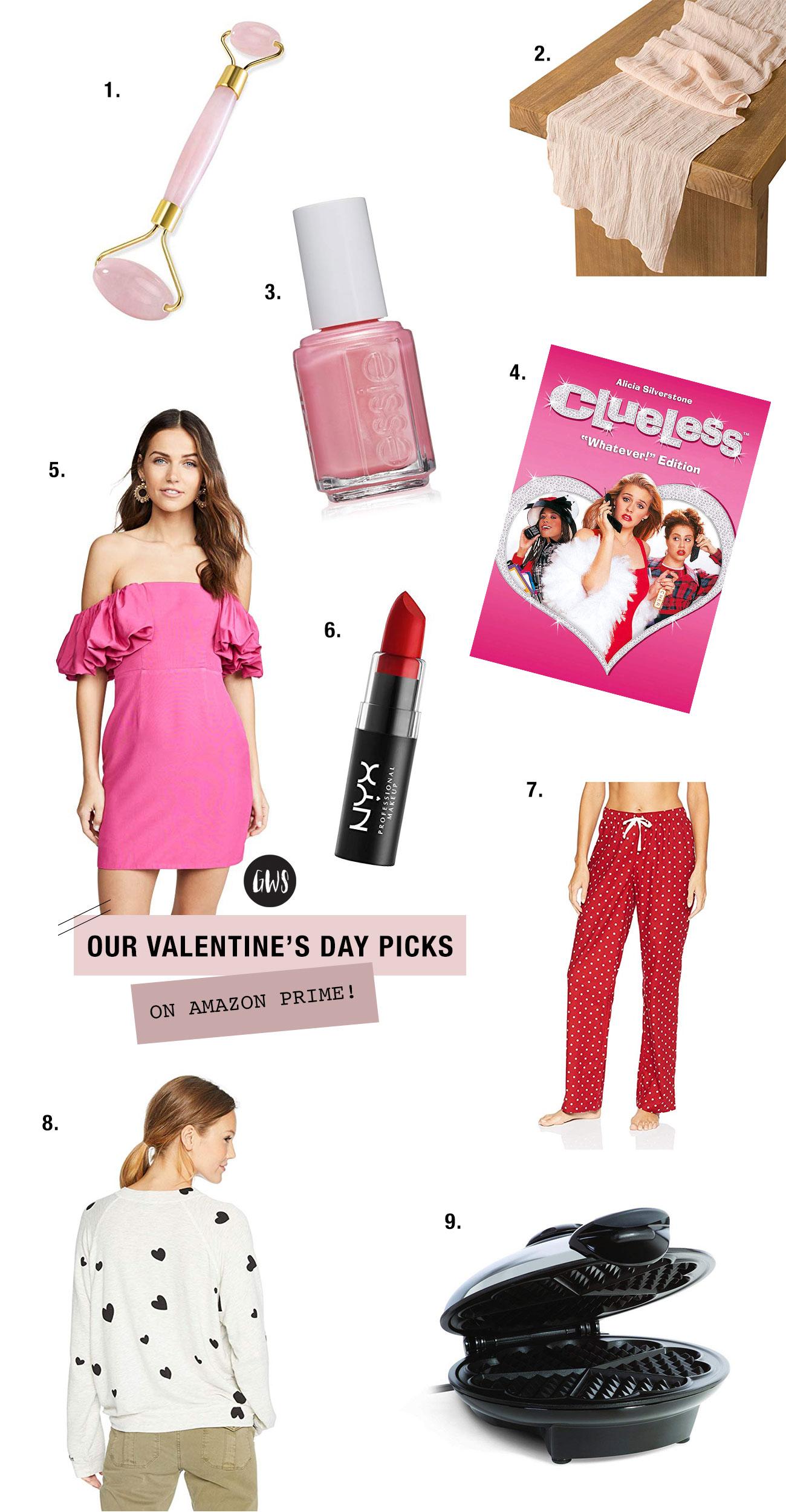 Valentine's Day Amazon Prime Picks