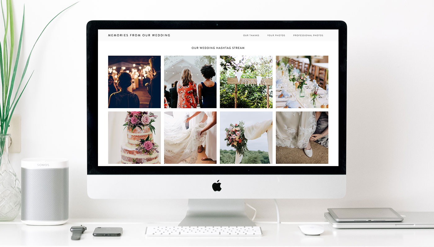 Make your life easier with a Squarespace wedding website