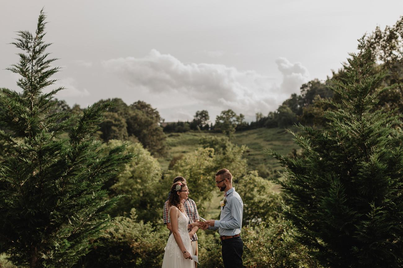 dreamy weddings in the woods