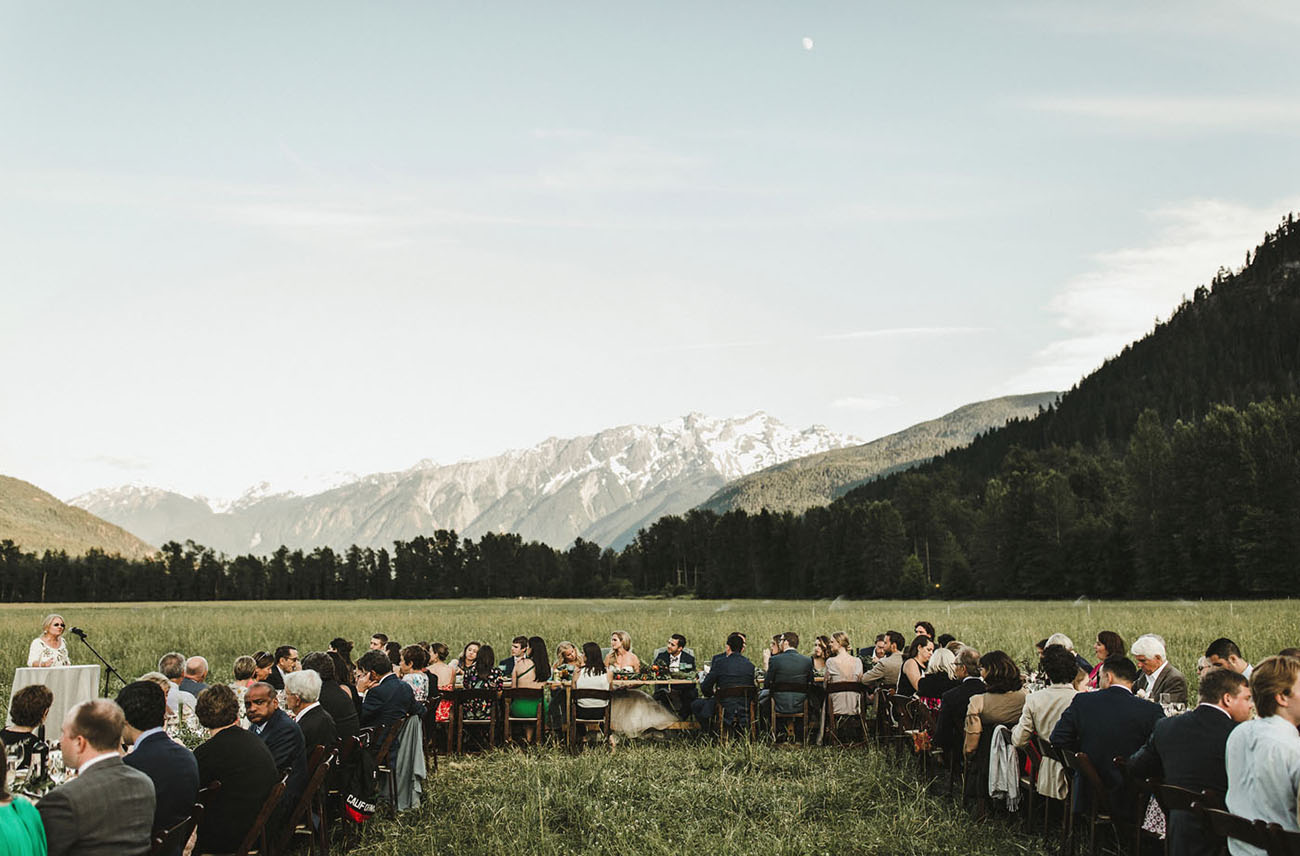 Canadian Mountains Wedding