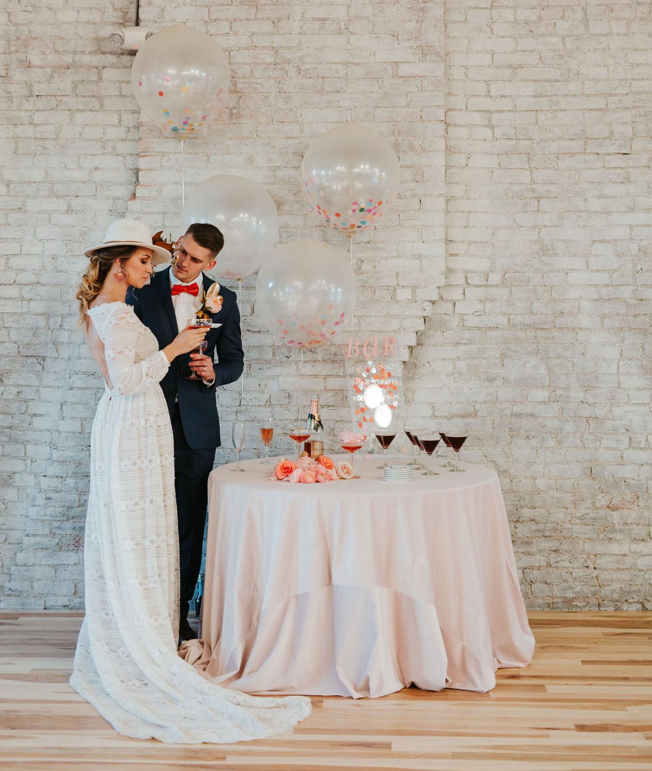 Terrazzo Confetti Wedding Inspiration