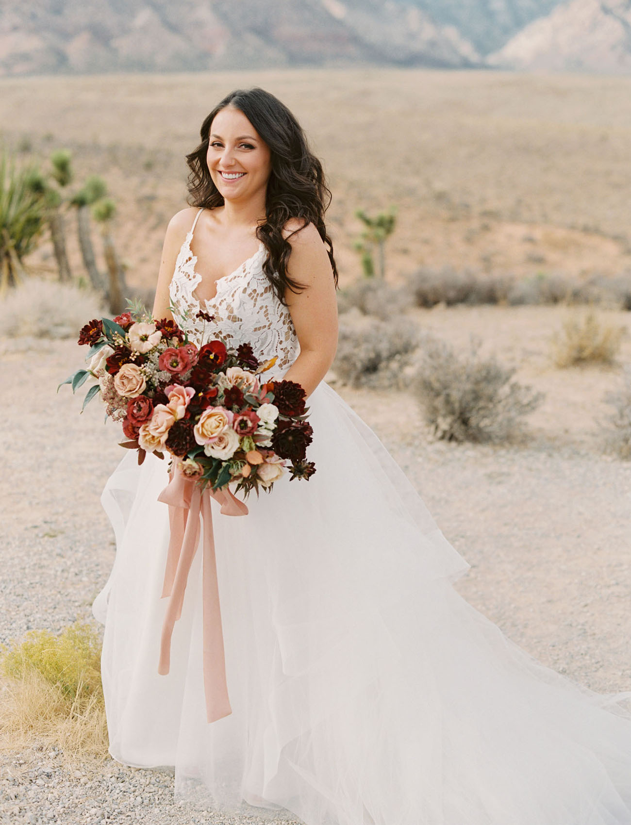 desert bride elopement