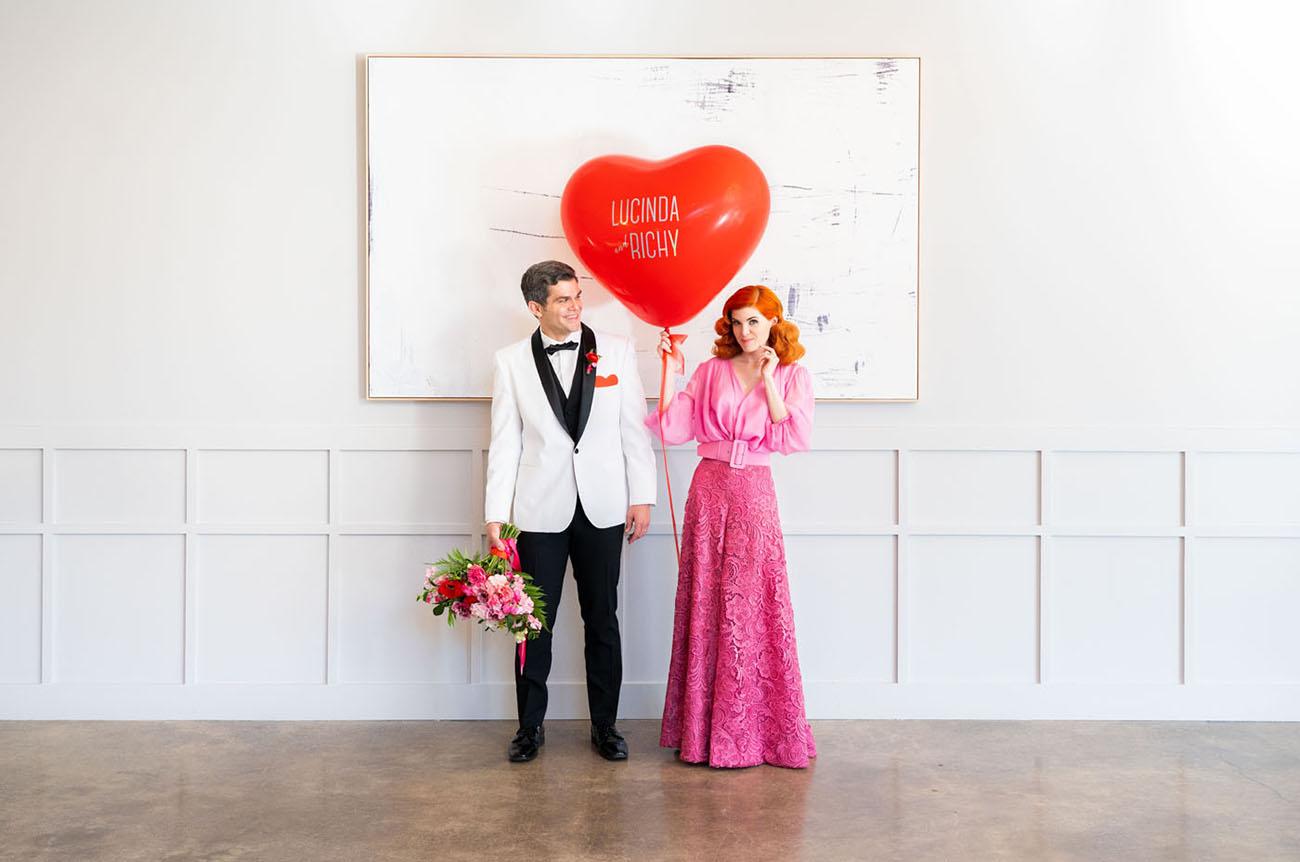 9f35c61f7e3c I Love Lucy Wedding Inspiration