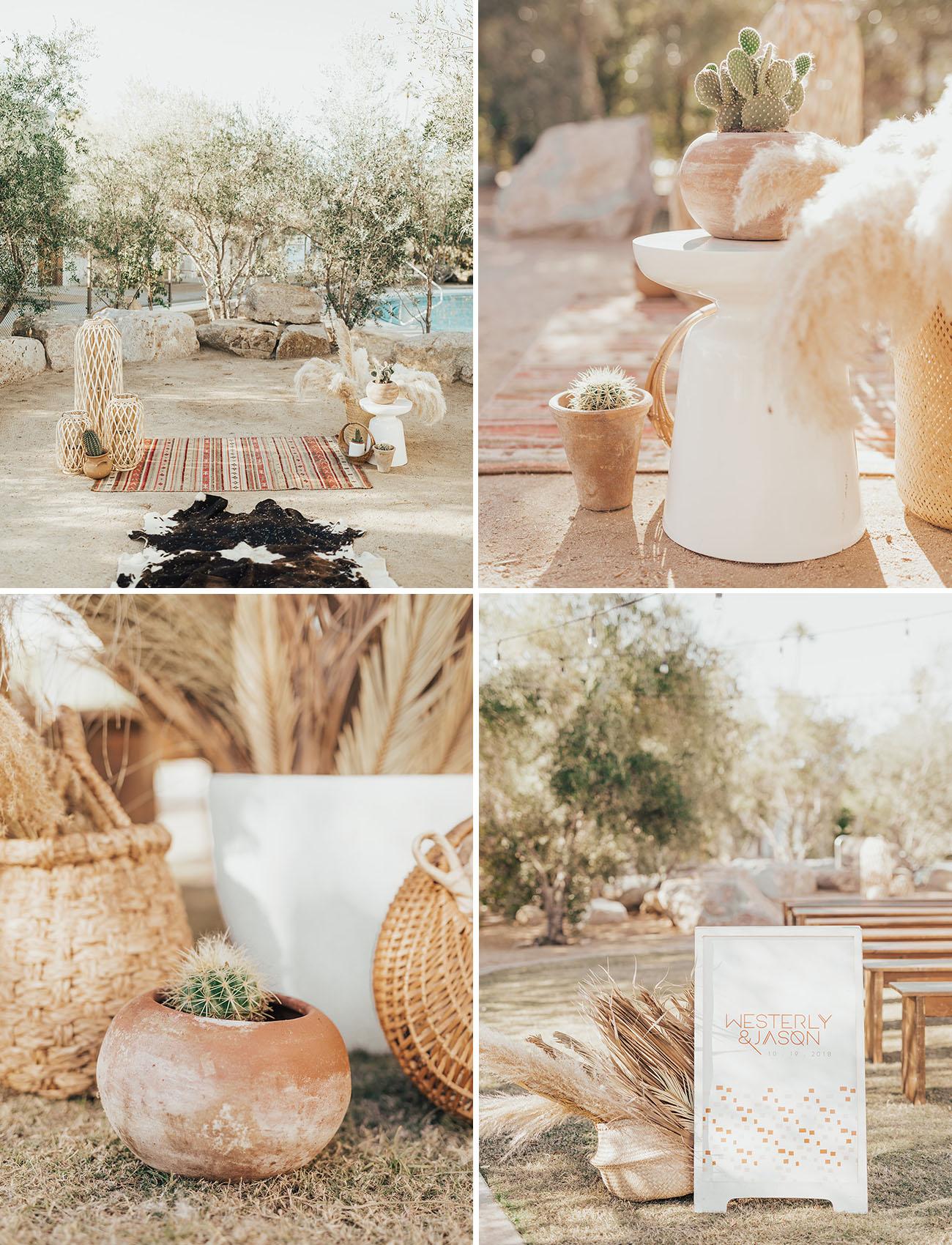 Intimate Southwestern Desert Wedding