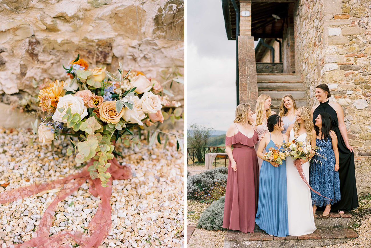 Intimate Destination Wedding in Italy