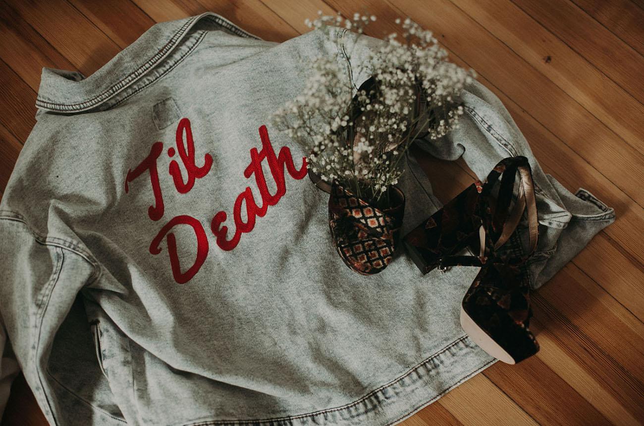 til death jacket