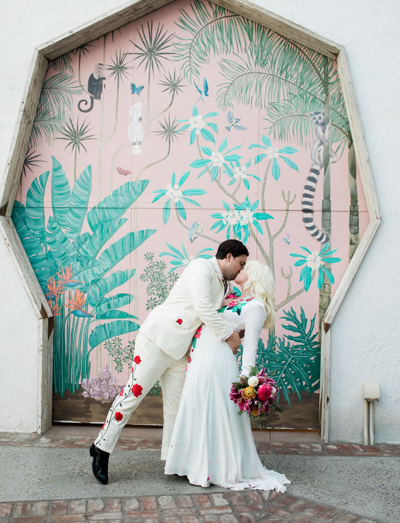 Wild Western Los Angeles Wedding