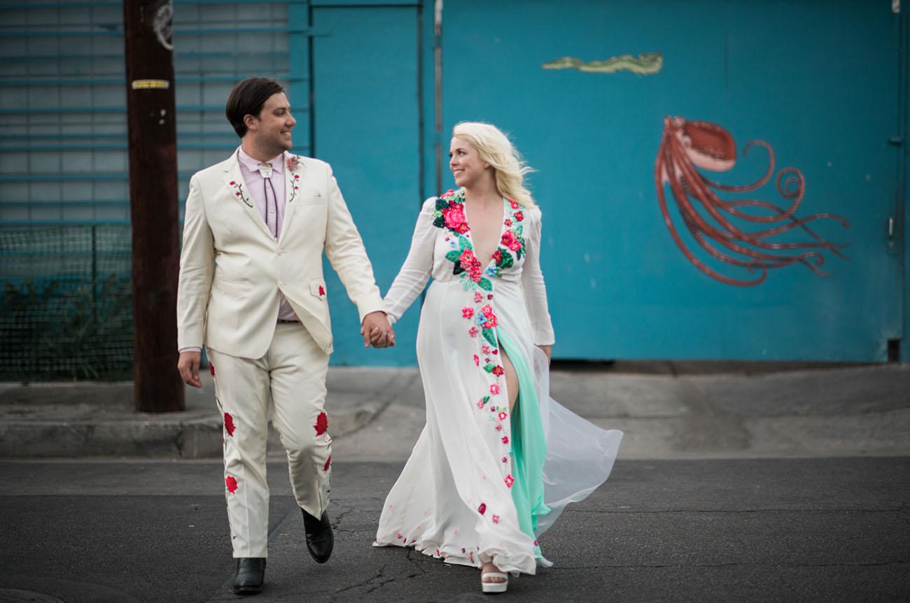 Wild Western Los Angeles Wedding