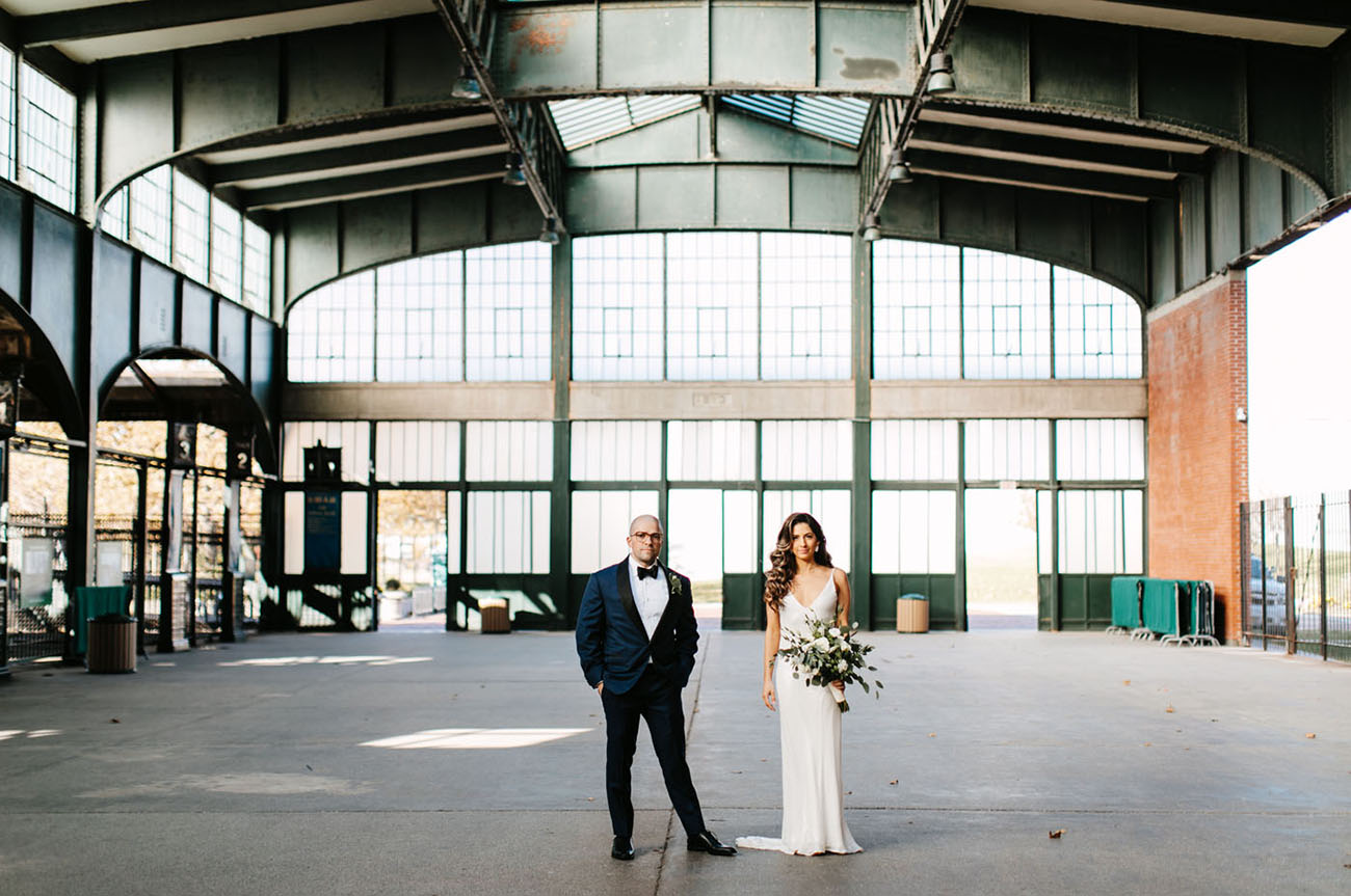 Modern Jersey City Wedding