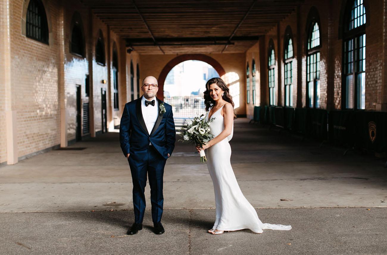 Modern Jersey City Wedding