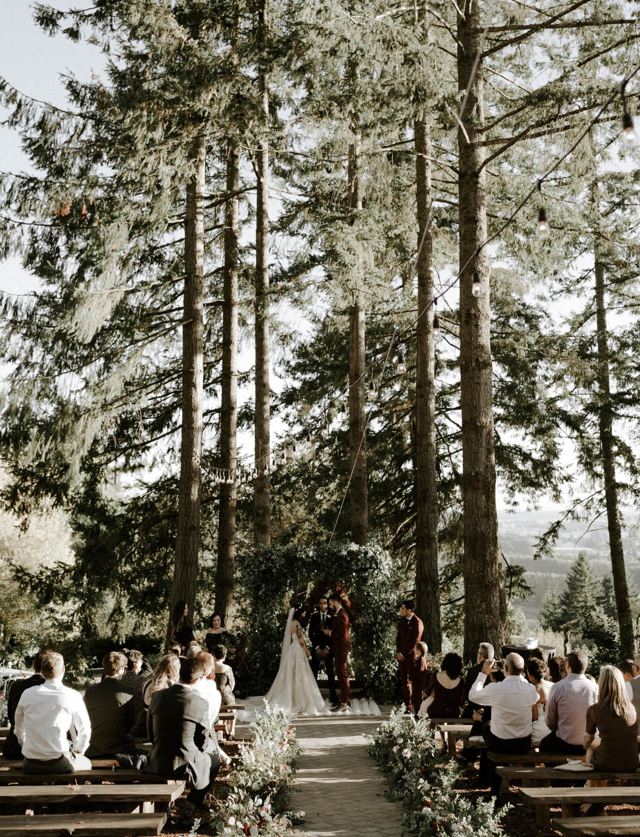dreamy weddings in the woods