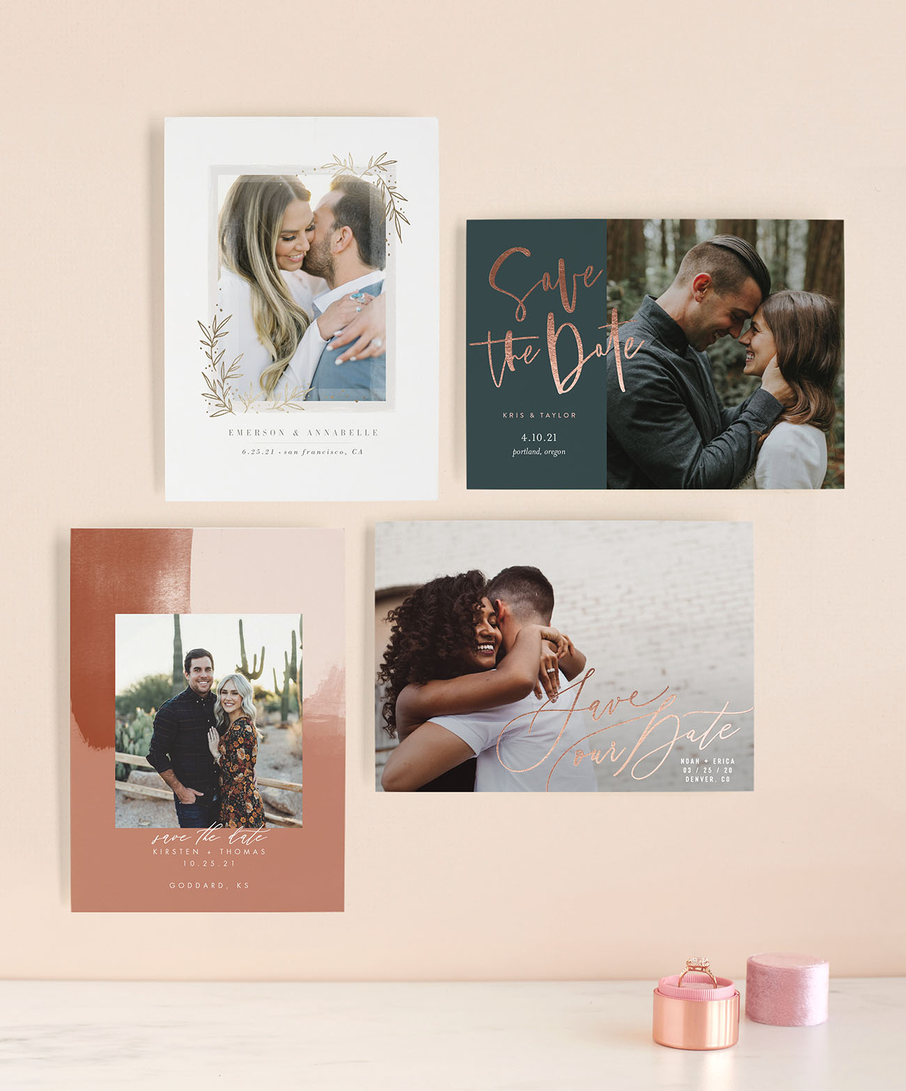 Keep It Fresh With Minted's Latest Save The Dates For 2019