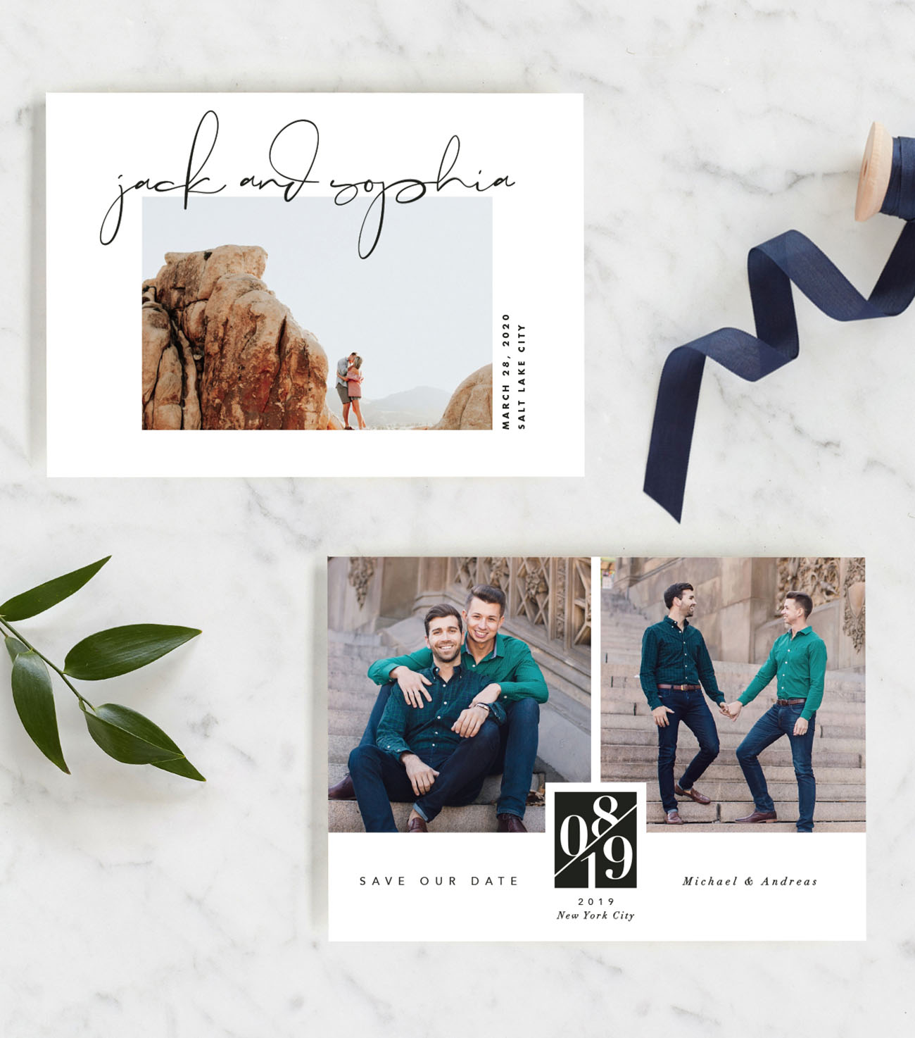 Minted 2019 Save the Date Collection