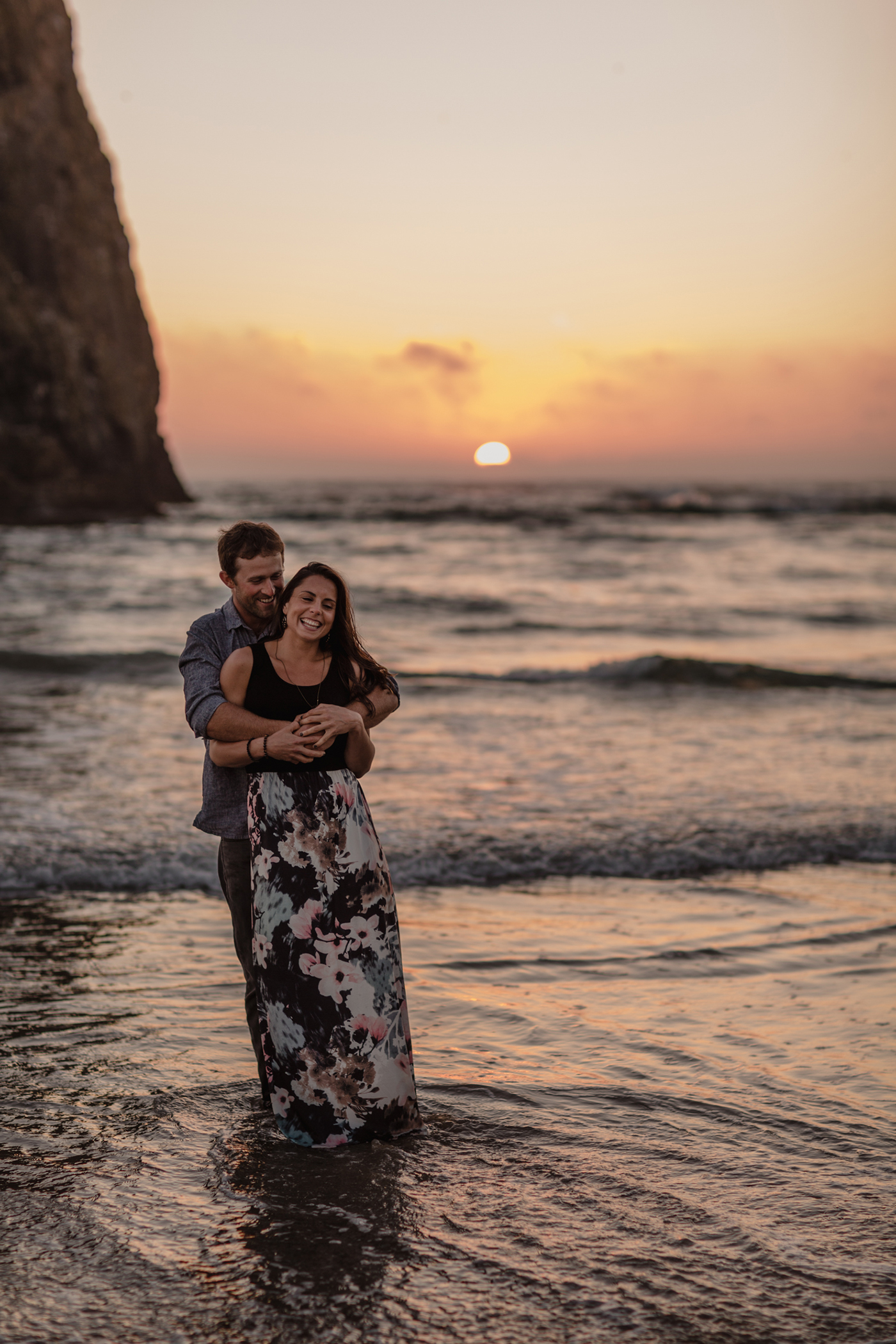 Cannon Beach Oregon Elopement
