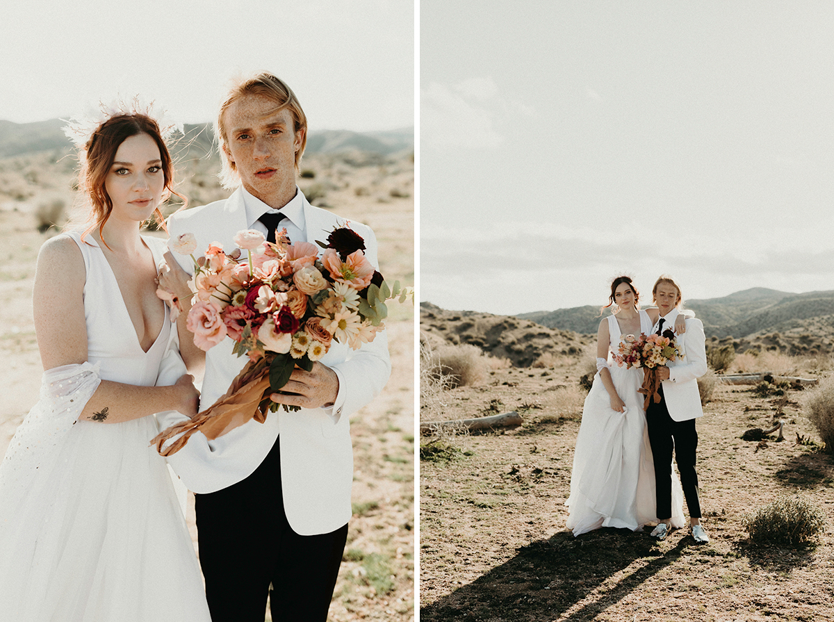 Rugged Desert Wedding Inspiration