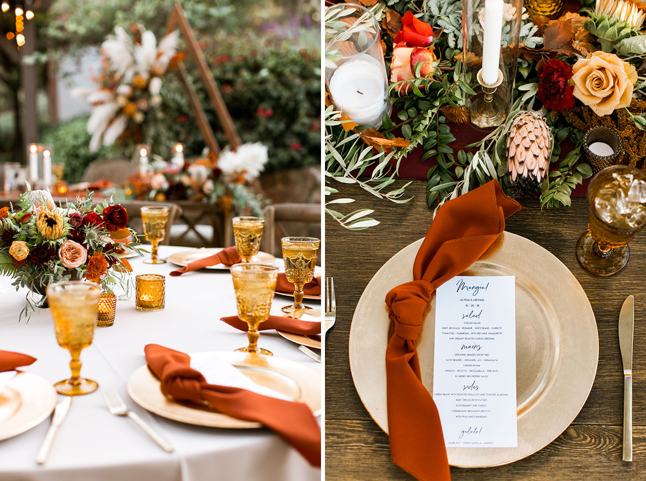 Fall Boho Wedding