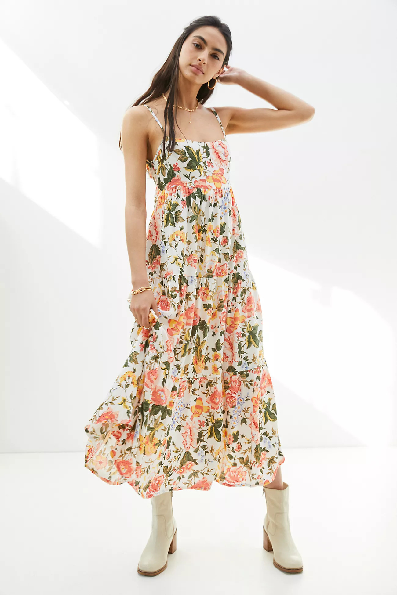 Overall for a spring wedding