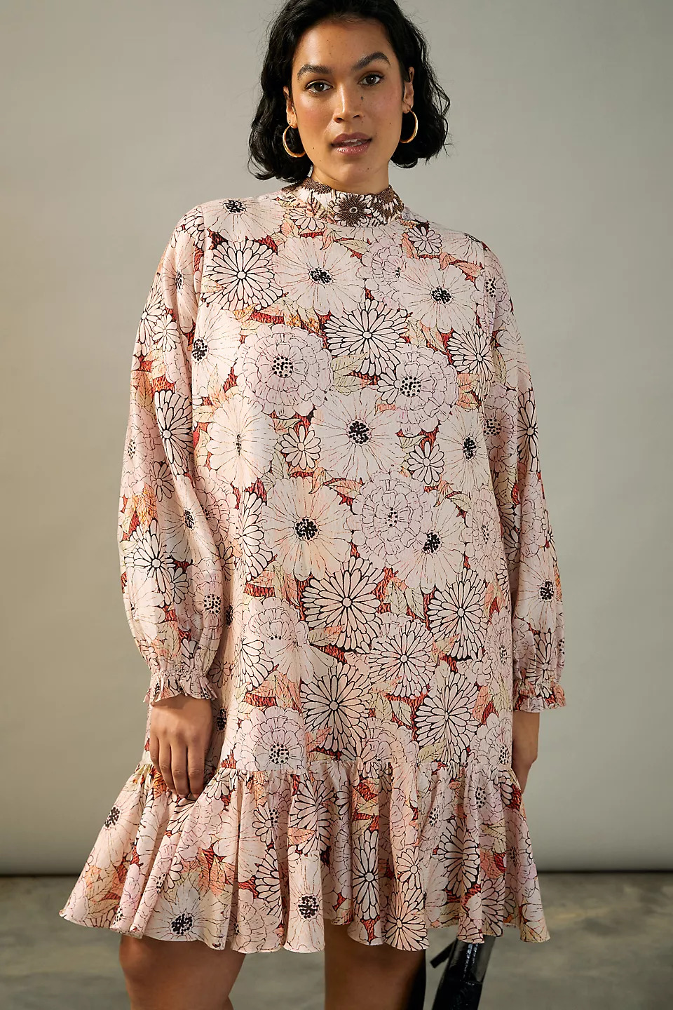 floral tunic to wear to a spring wedding