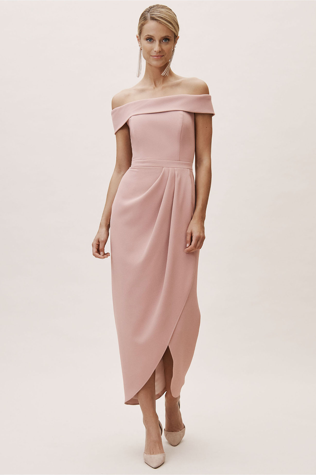 Pink Spring Cocktail Dress