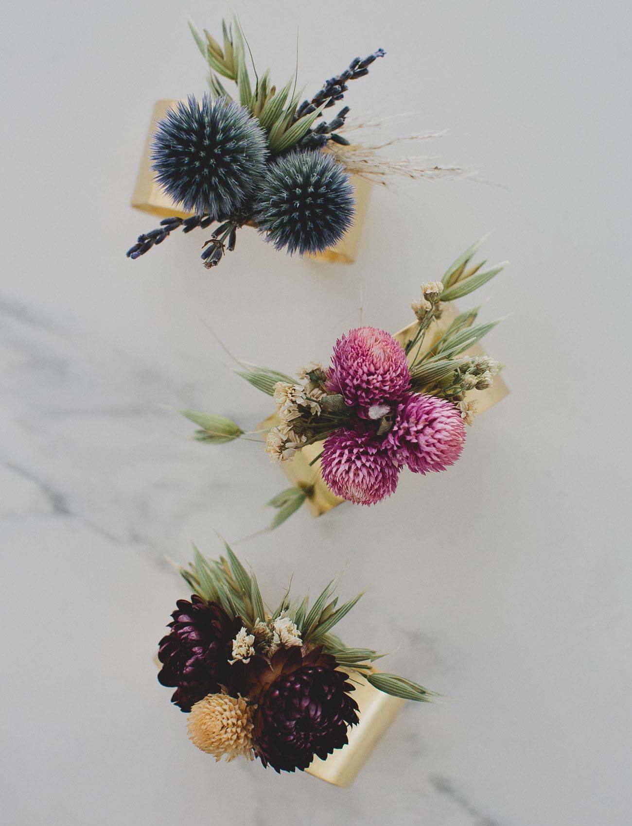 Afloral Dried Floral Cuff DIY