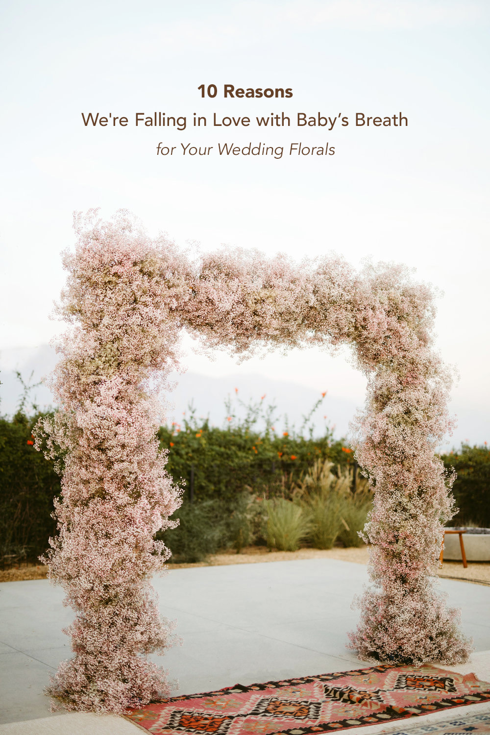 10 Reasons we are Falling in Love with Baby's breath for your Wedding Florals