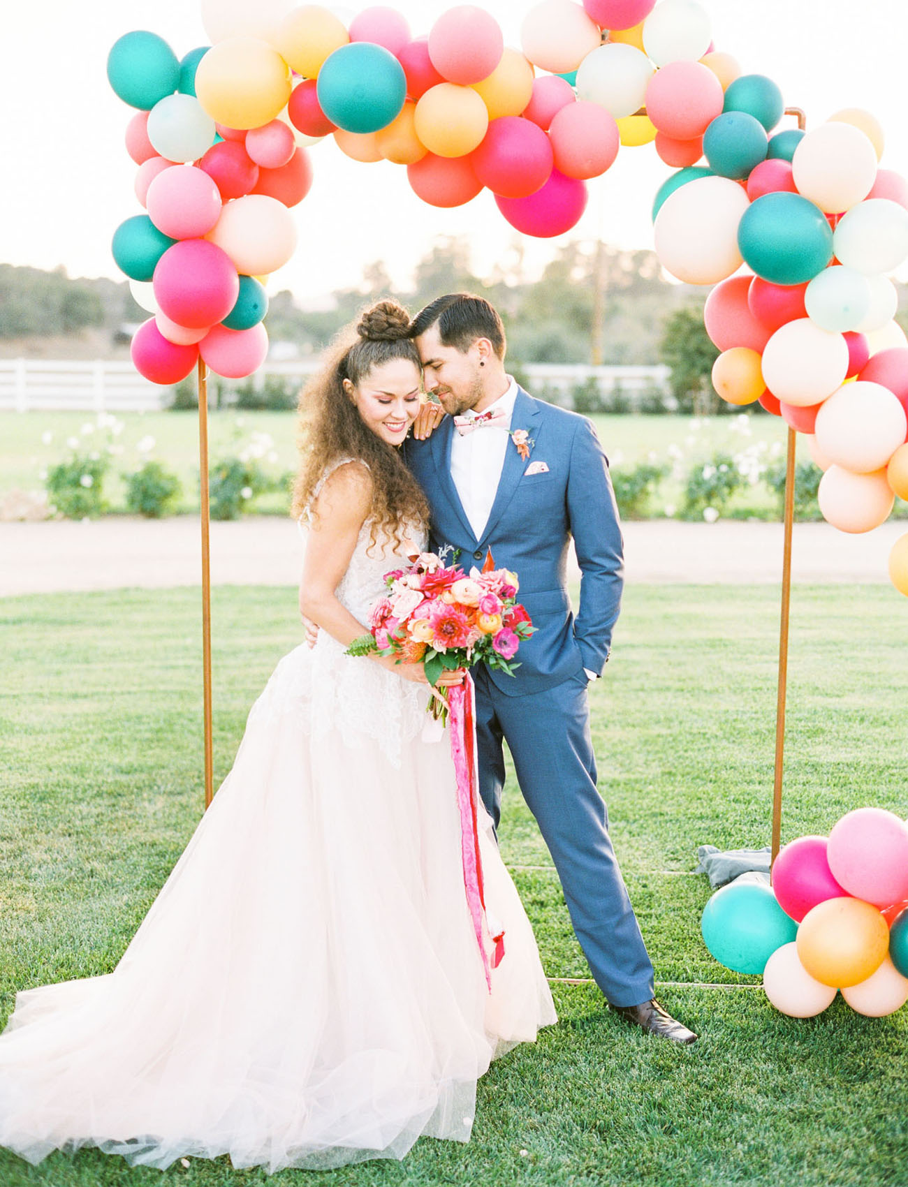 ballon arch backdrop