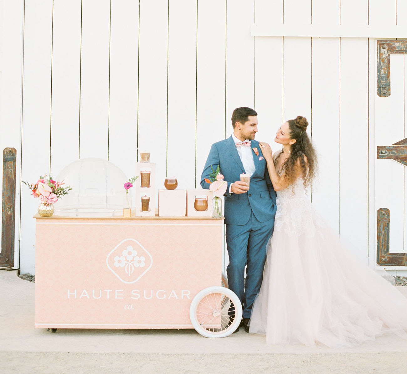 wedding coffee cart