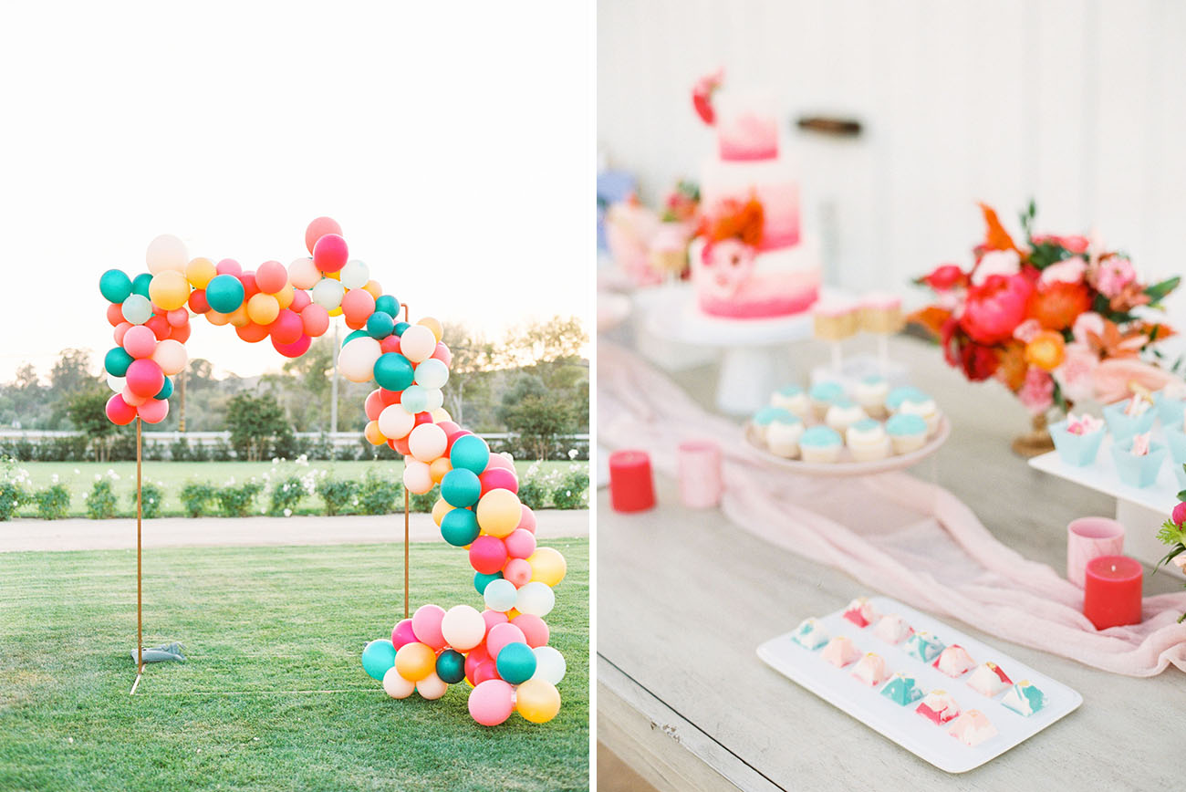 Vibrant Colorful Wedding Inspiration