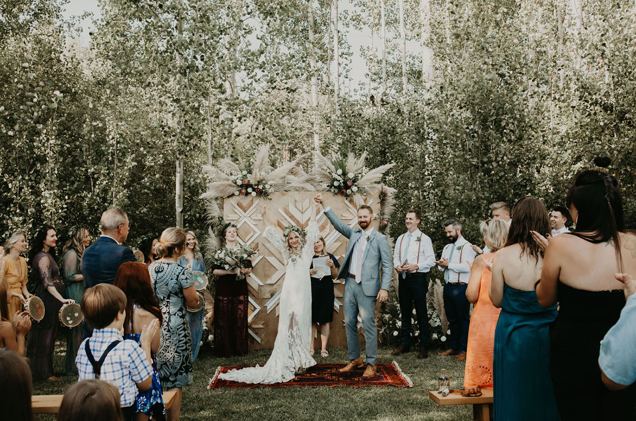Boho Washington Wedding