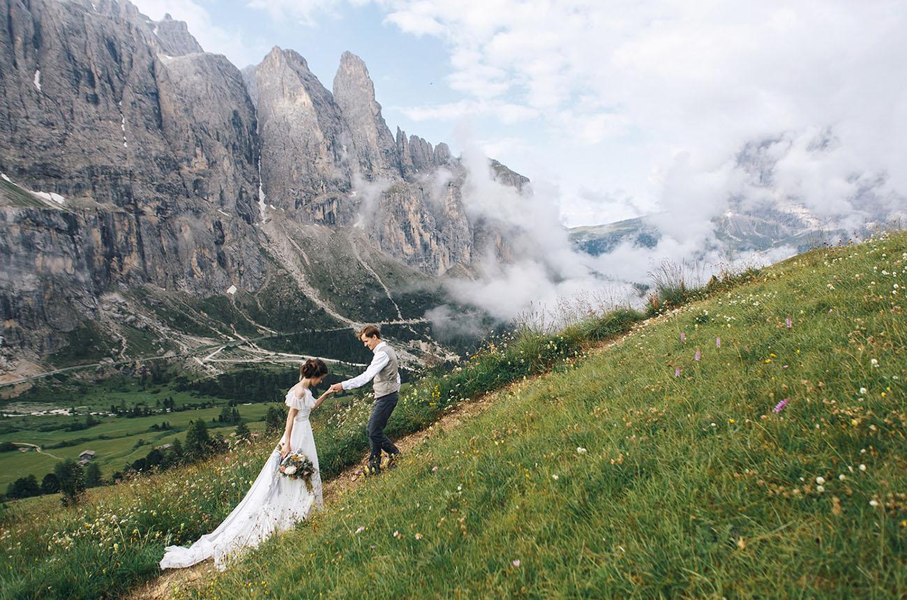 Italian Dolomites Elopement