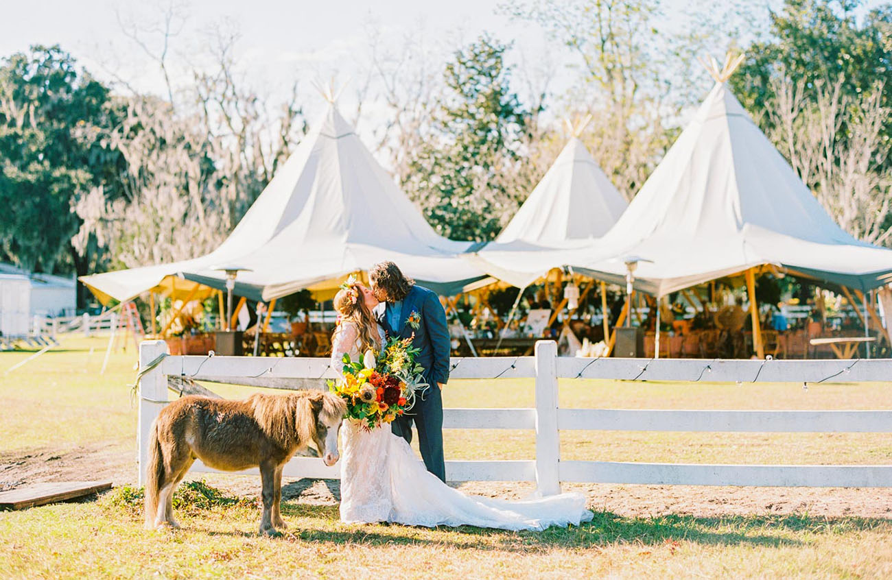 Festival Wedding in Georgia
