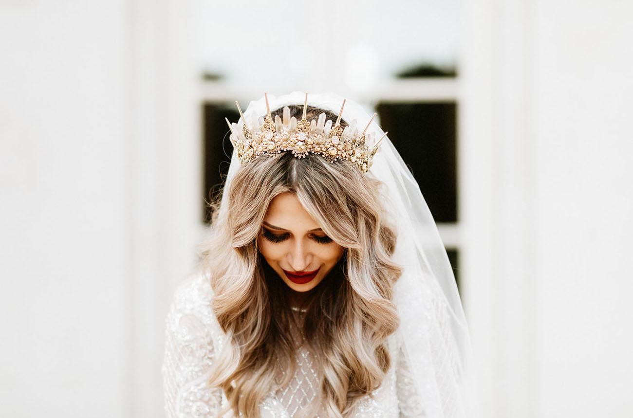 top 2019 bridal headpiece trends