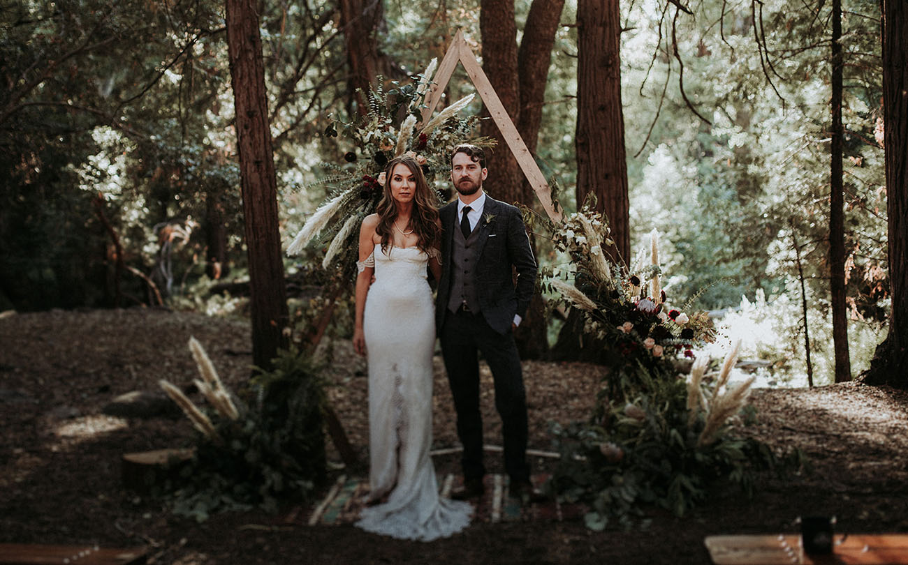 Rustic Boho Forest Wedding