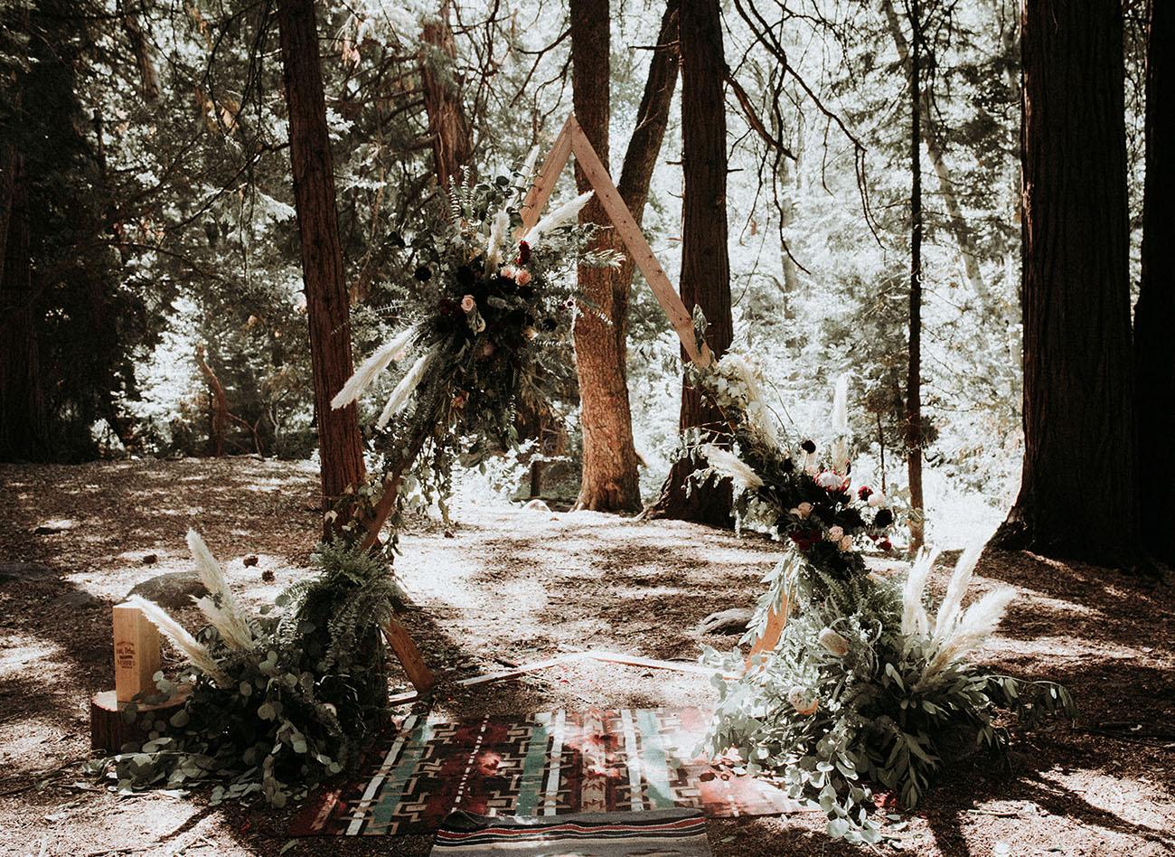 Rustic Boho Forest Wedding