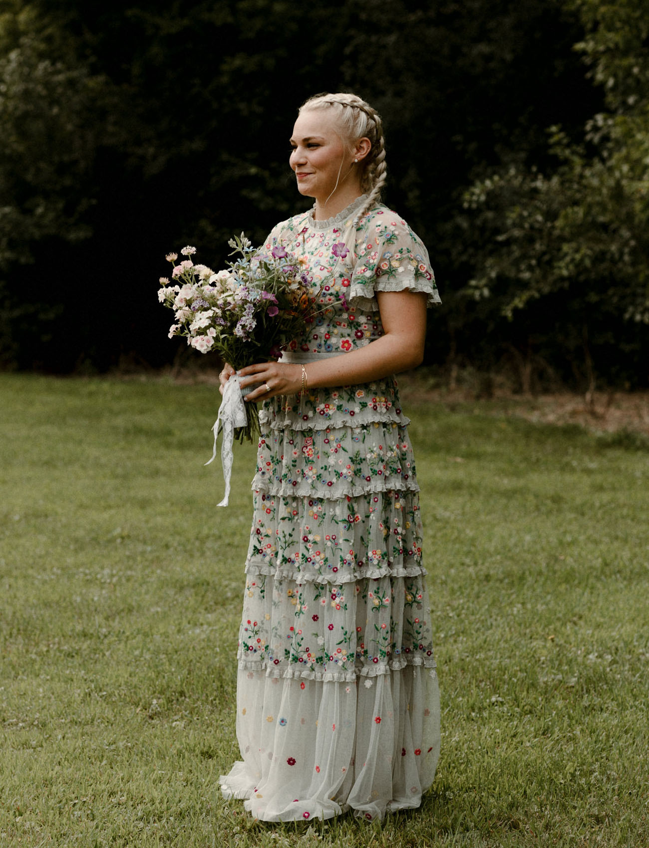 Needle and Thread Wedding Dress
