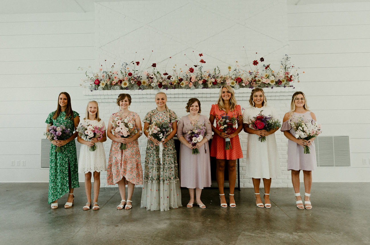 Minnesota Floral Wedding