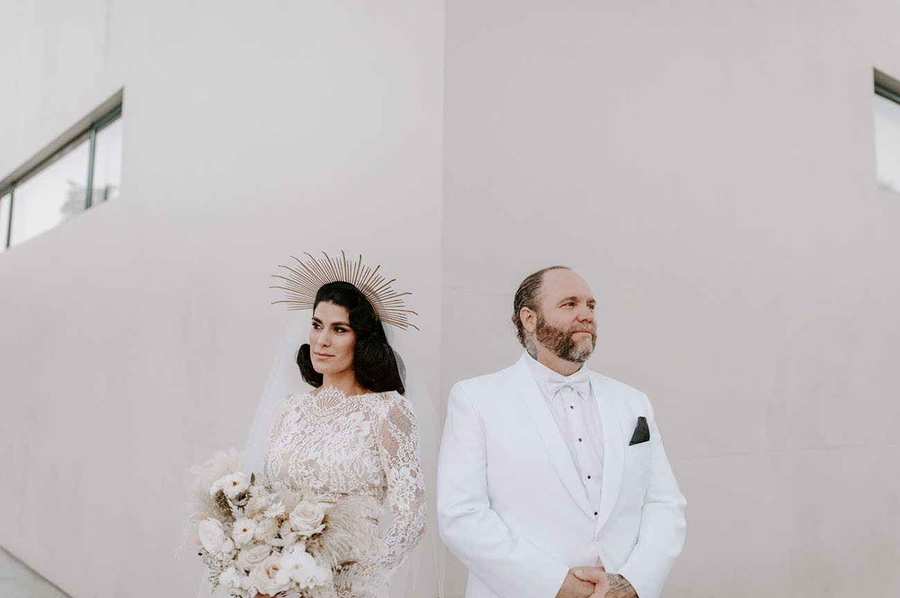 Modern Chic Neuehouse Wedding