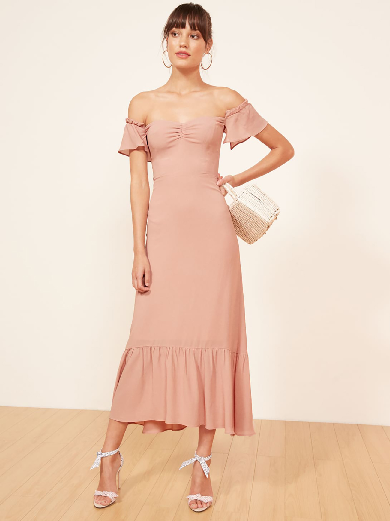 Reformation Dress What to Wear to Spring Wedding
