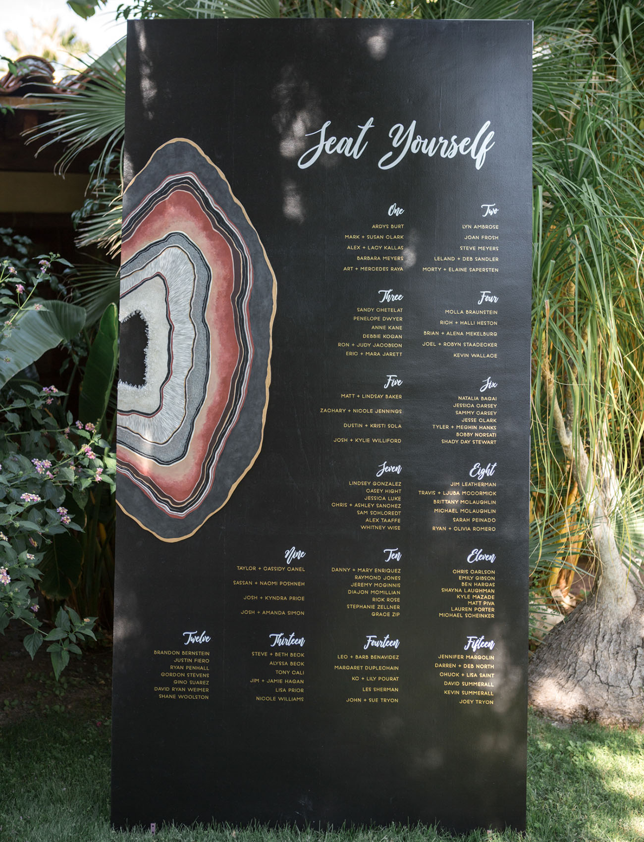 geode seating chart