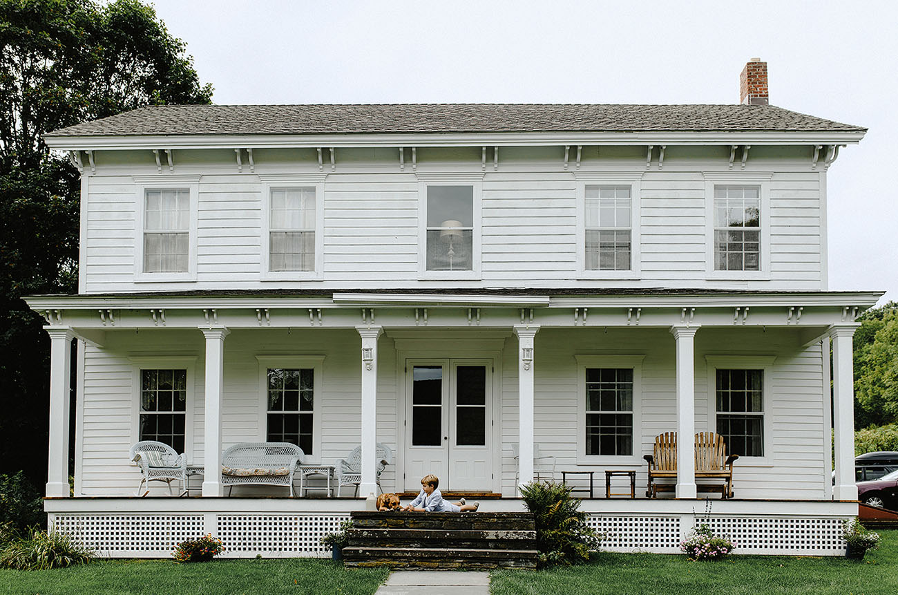 Farmhouse Wedding in the Catskills