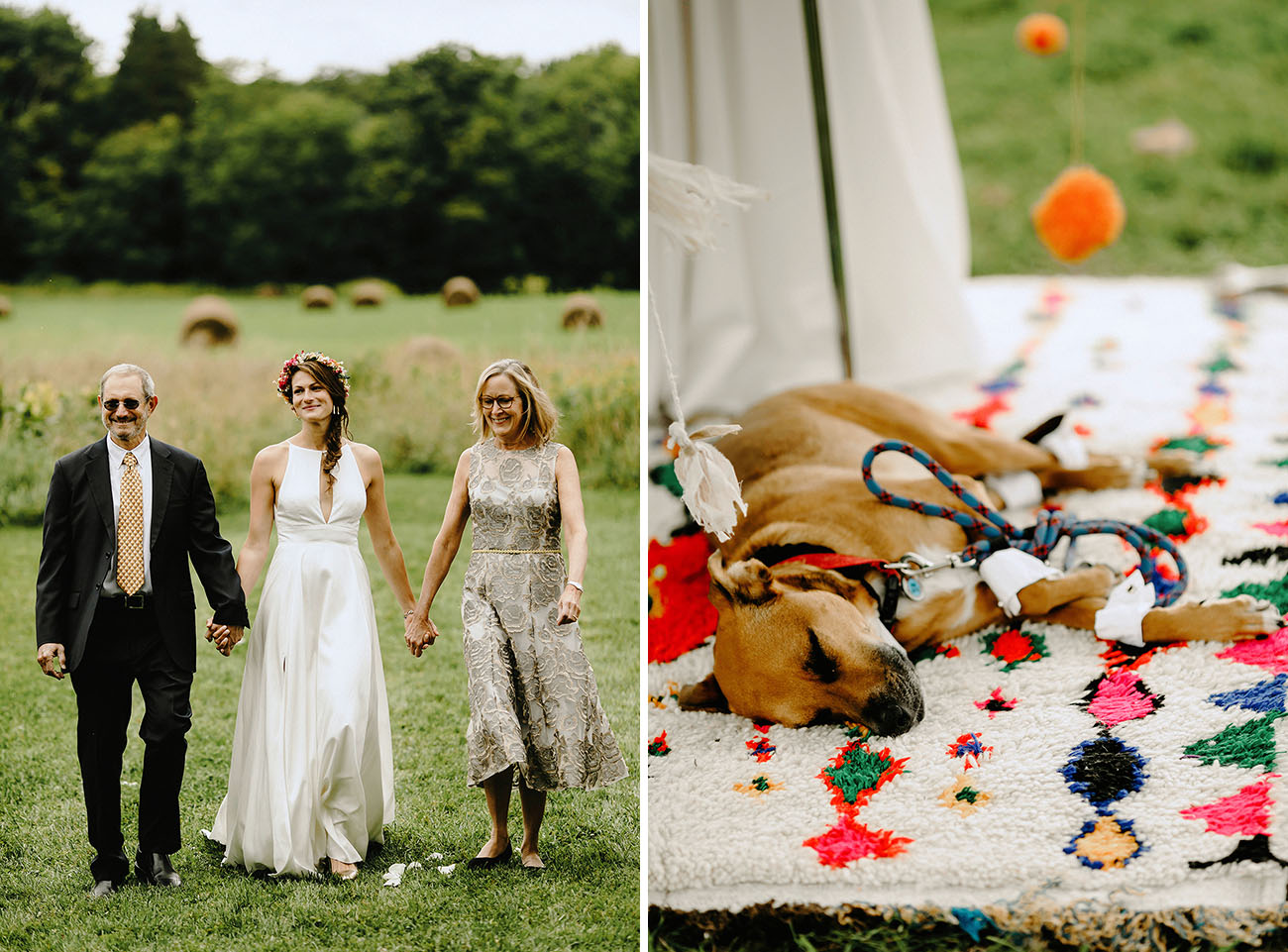 Farmhouse Wedding in the Catskills
