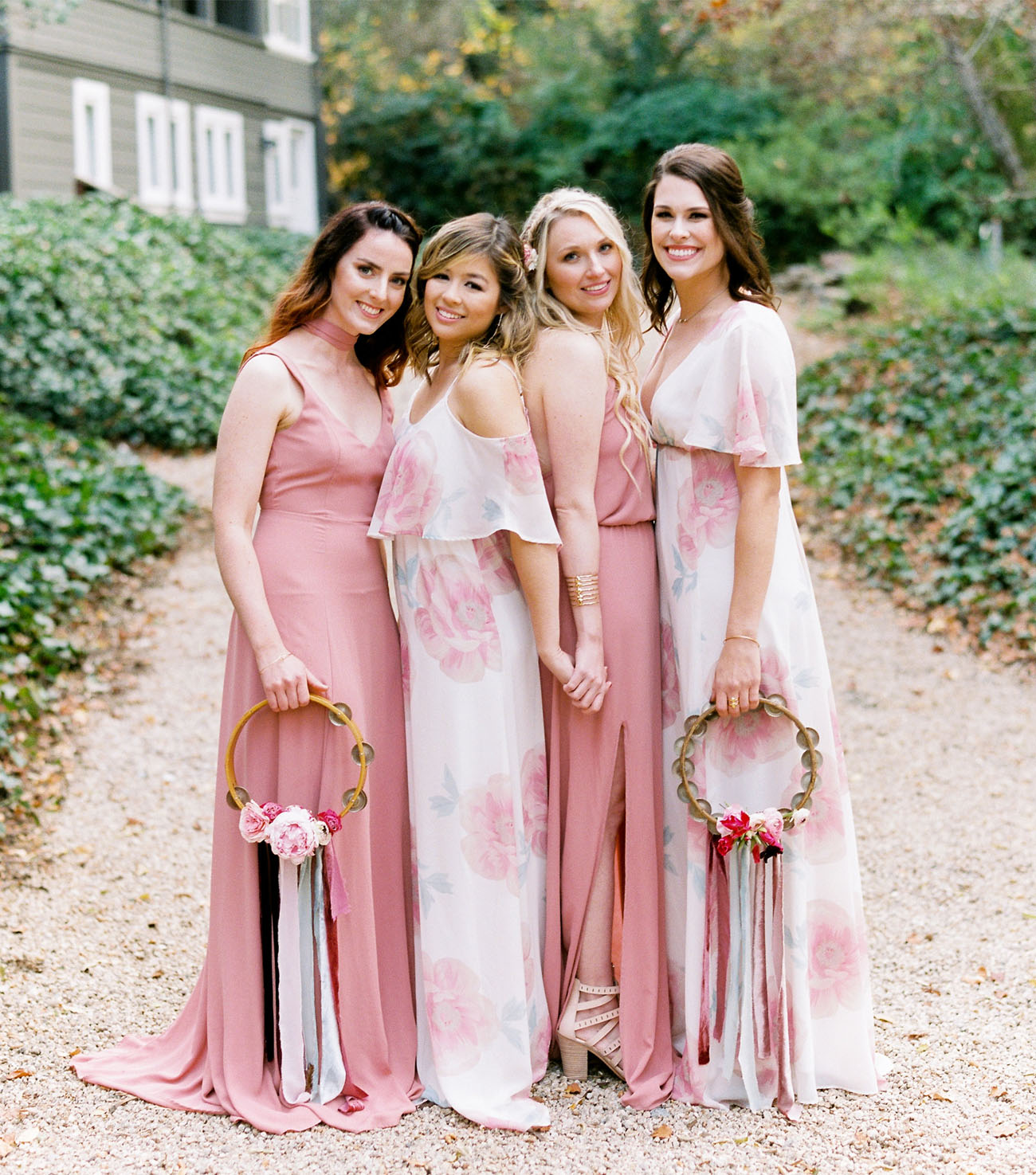 tambourines for bridesmaids