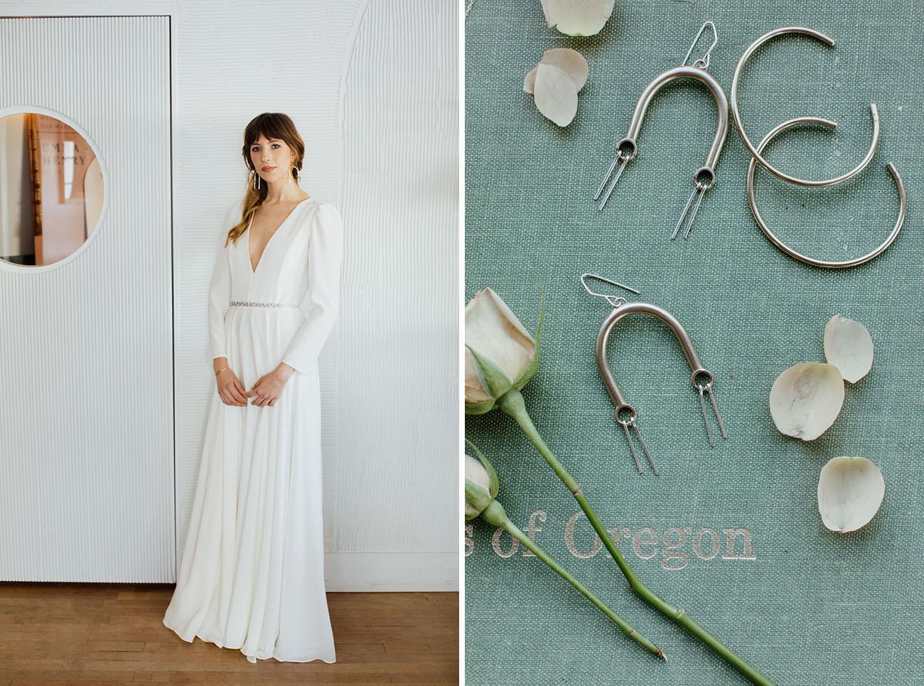 Portland Industrial Wedding Inspiration