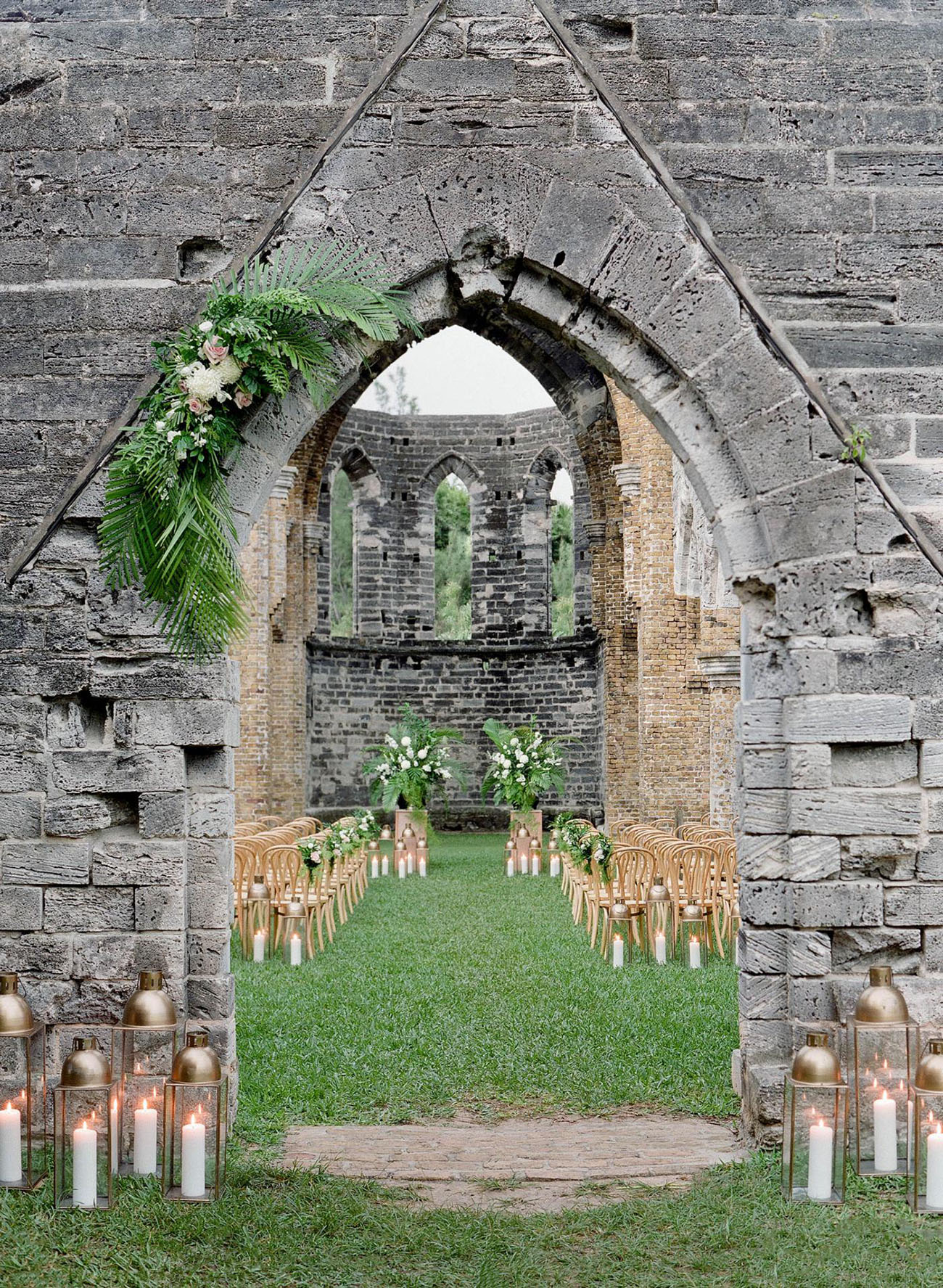 Bermuda Ruin unfinished church abandoned venue