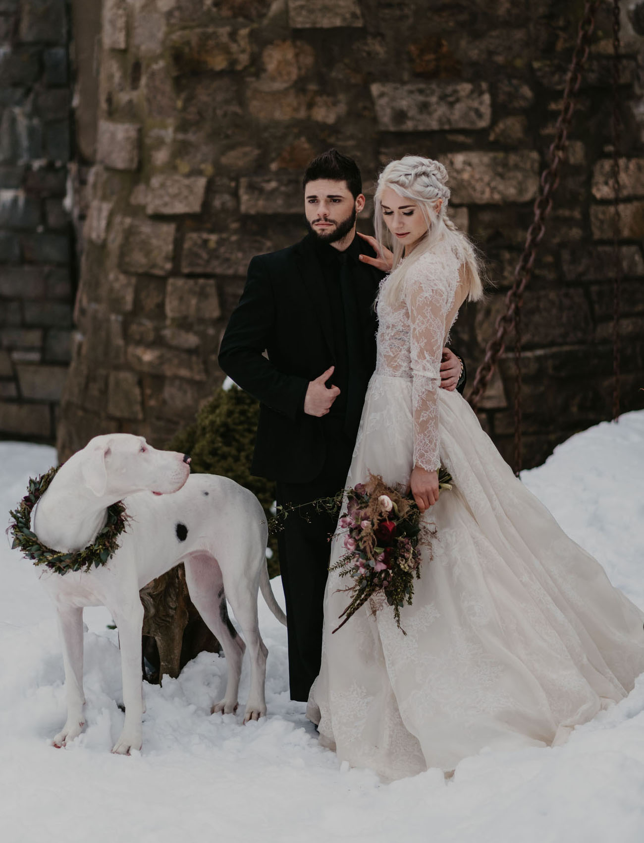A Marriage of Ice and Fire: The Game of Thrones-Inspired Wedding You've Got to See to Believe