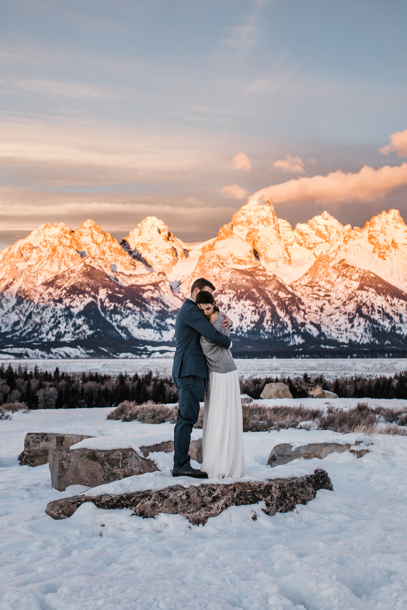 Grand Teton National park elopement photographers the hearnes