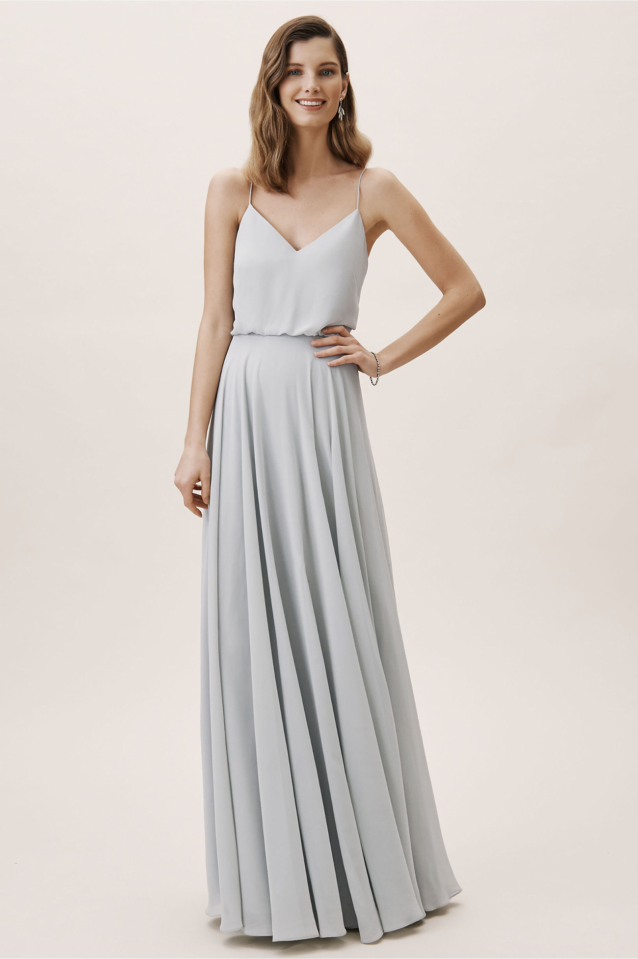Inesse Dress in Whisper Blue