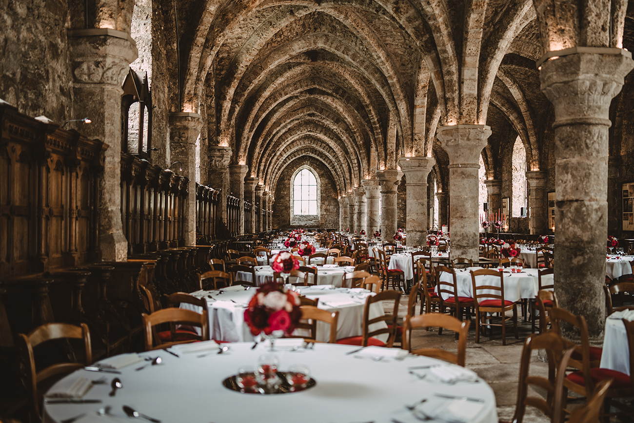 l'Abbaye des Vaux de Cernay France Abandoned Wedding